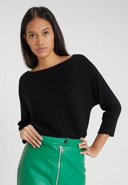 Vero Moda - VMNORA BOATNECK - Jersey de punto - black