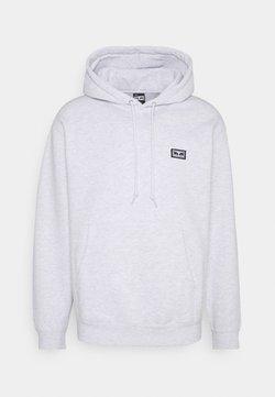 Obey Clothing - ALL EYEZ HOOD - Felpa con cappuccio - ash grey