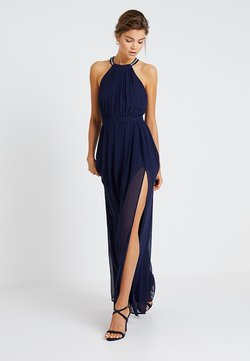 Nly by Nelly - HALTERNECK BEADED GOWN - Ballkleid - navy