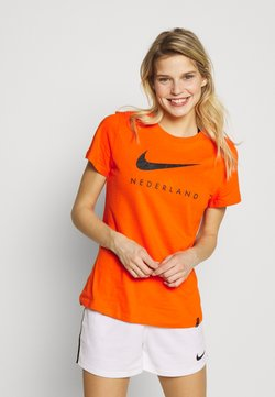 Nike Performance - NIEDERLANDE KNVB TEE GROUND - Voetbalshirt - Land - safety orange