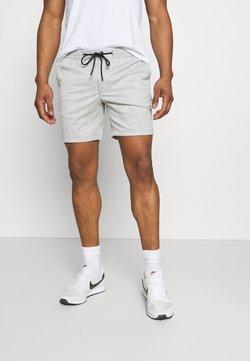 Topman - STRIPE - Shorts - grey