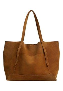 Mango - VEGA - Shopping Bag - marrón medio