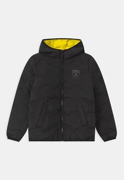 Automobili Lamborghini Kidswear - QUILTED HEXAGONS - Winterjas - black pegaso