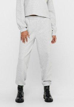 ONLY - Jogginghose - light grey melange