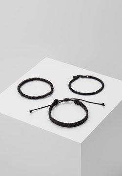 Icon Brand - 3 PACK - Bracelet - black