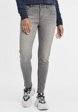 Oxmo - Irabelle - Slim fit jeans - grey denim