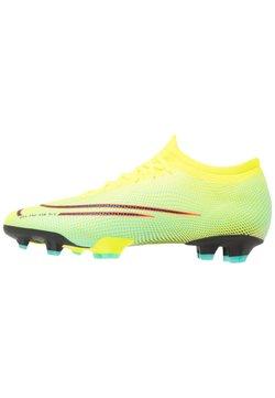 Nike Performance - MERCURIAL VAPOR 13 PRO FG UNISEX - Fußballschuh Nocken - lemon/black/aurora green