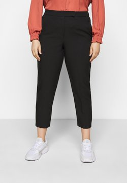 CAPSULE by Simply Be - ESSENTIAL TAPERED TROUSER - Pantalon classique - black