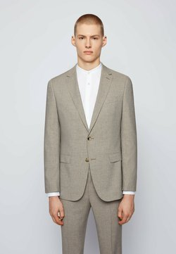 BOSS - SET - Anzug - beige