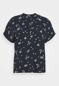 Ragwear Plus - RICOTA CAMOMILE - T-Shirt print - navy