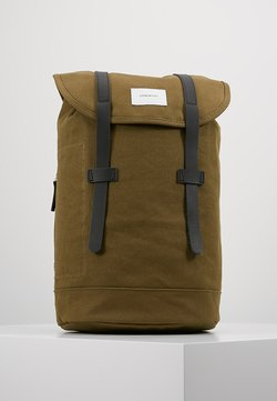 Sandqvist - STIG - Tagesrucksack - dark olive with black