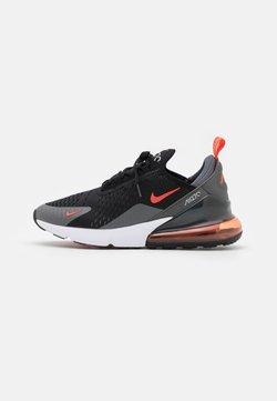 Nike Sportswear - AIR MAX 270 - Sneakers laag - black/team orange/iron grey/turf orange/white/light smoke grey