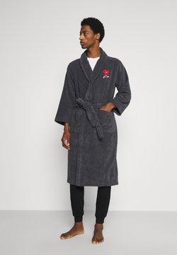 Lousy Livin Underwear - HEART BATHROBE - Dressing gown - grey