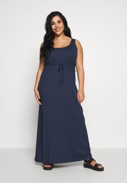 Even&Odd Curvy - Vestido largo - dark blue