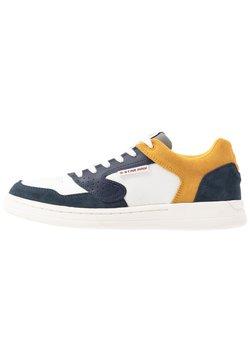 G-Star - MIMEMIS  - Sneaker low - mazarine blue/milk/yellow