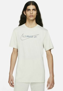 Nike Sportswear - AIR MAX  - T-Shirt print - light bone