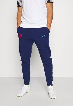 Nike Performance - FC BARCELONA PANT - Equipación de clubes - blue void/oracle aqua