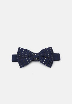 Shelby & Sons - GILES BOWTIE - Fliege - navy/mustard
