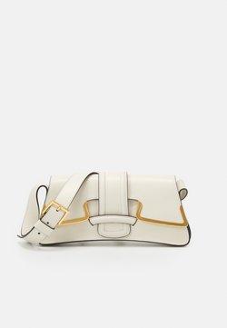 Alberta Ferretti - SHOULDER BAG SMALL BUCKLE - Torebka - beige
