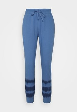 GAP - TIE DYE - Jogginghose - blue