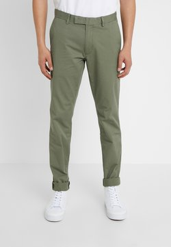 Polo Ralph Lauren - TAILORED PANT - Chinot - army olive