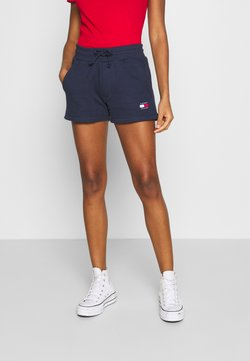 Tommy Jeans - BADGE - Shorts - twilight navy