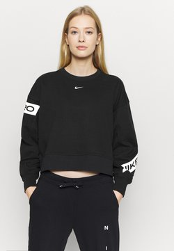 Nike Performance - GET FIT - Collegepaita - black/white