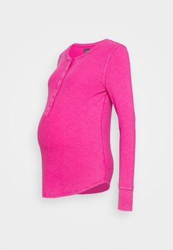 GAP Maternity - RELAX - Camiseta de manga larga - bright beet