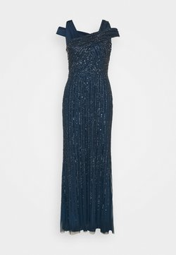 Adrianna Papell - BEADED GOWN WITH MERMAID SKIRT - Occasion wear - deep blue
