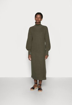 esmé studios - SCARLETT  DRESS - Strikkjoler - grape leaf