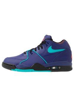 Nike Sportswear - AIR FLIGHT 89 - Sneaker high - regency purple/oracle aqua/black/team orange