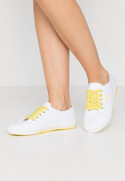 Esprit - ITALIA LACE UP - Baskets basses - bright yellow