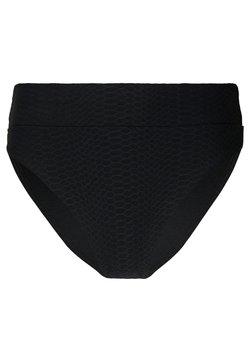 Seafolly - MEDUSAHI RISE WIDE BAND - Bikini-Hose - black