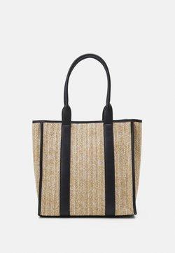 Even&Odd - Shoppingväska - beige/black
