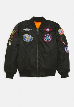 Alpha Industries - PATCH KIDS - Bombertakki - black