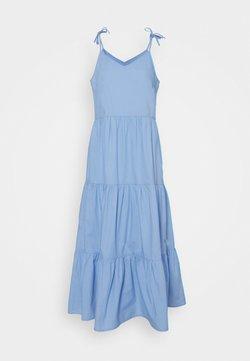 Pieces - PCTESS STRAP ANKLE DRESS  - Maxikleid - vista blue