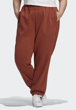 adidas Originals - CUFFED JOGGERS - Jogginghose - brown