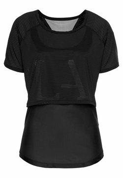 LASCANA Active - Funktionsshirt - schwarz