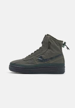 Nike Sportswear - AIR FORCE 1 - Sneaker high - cargo khaki/off noir/seaweed