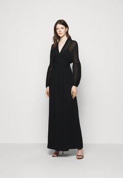 Dondup - GEORGETTE DRESS - Maxikleid - black