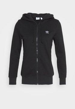 adidas Originals - TRACK - Sweatjacke - black