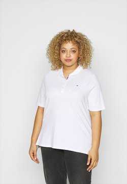 Tommy Hilfiger Curve - ESSENTIAL - Poloshirt - white