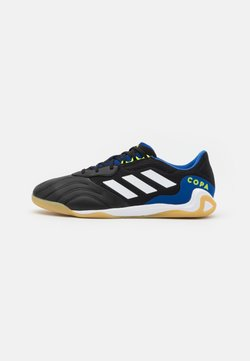 adidas Performance - COPA SENSE.3 IN SALA - Indoor football boots - core black/footwear white/solar yellow