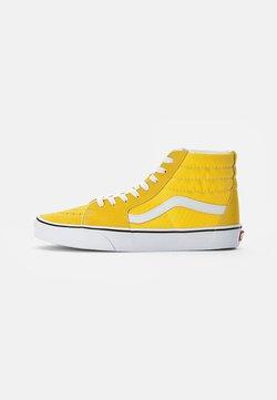 Vans - SK8-HI UNISEX - Sneakers alte - cyber yellow/true white