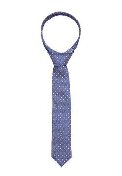 Tommy Hilfiger - DOT TIE - Krawatte - blue