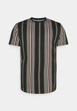 Johnny Bigg - DENTON STRIPE LONGLINE TEE - T-Shirt print - khaki