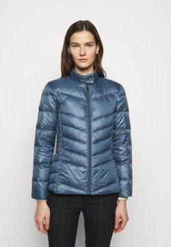 Lauren Ralph Lauren - PEARL SHEEN RACER MOTO SOFT - Untuvatakki - slate blue