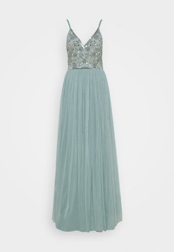 Maya Deluxe - STRAPPY EMBELLISHED MAXI DRESS - Ballkleid - pastel turquoise