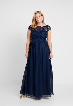 Chi Chi London Curvy - COSIA DRESS - Cocktail dress / Party dress - navy