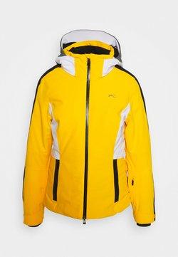 Kjus - WOMEN FORMULA - Kurtka narciarska - go hon yellow